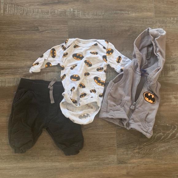 0-3m Batman outfit